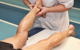 Восстановление голеностопного сустава после травмы