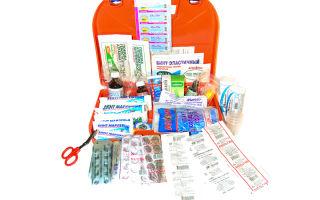 Аптечка первой помощи для офиса и организации