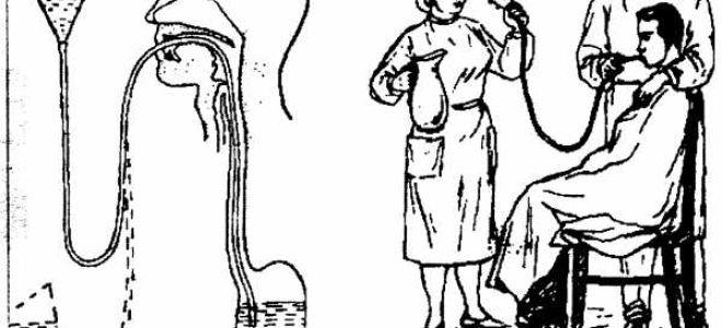 Алгоритм и техника промывания желудка в домашних условиях