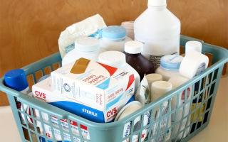 Домашняя аптечка для новорожденного