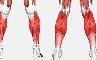 Воспаление икроножной мышцы